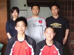 谷澤 巧也選手 西村 有貴選手